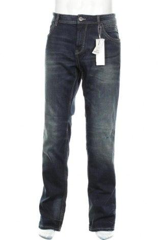 Мъжки дънки Tom Tailor, Размер XXL, Цвят Син, 85% памук, 13% полиестер, 2% еластан, Цена 40,05лв.