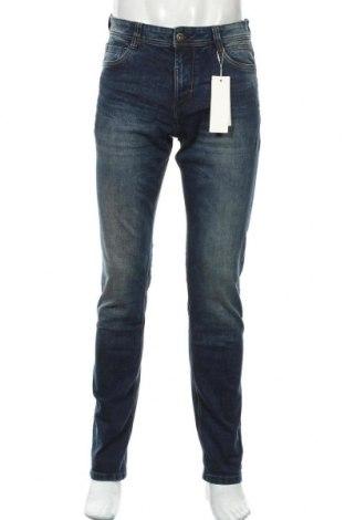 Мъжки дънки Tom Tailor, Размер M, Цвят Син, 99% памук, 1% еластан, Цена 31,15лв.