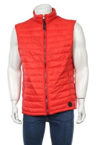 Мъжки елек Tom Tailor, Размер XL, Цвят Червен, Полиамид, Цена 31,05лв.