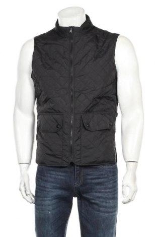 Мъжки елек Zara Man, Размер L, Цвят Черен, Полиамид, Цена 33,92лв.
