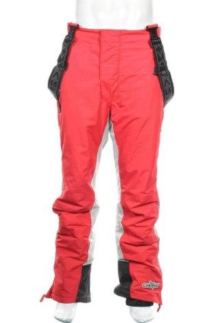 Мъжки гащеризон за зимни спортове Chervo, Размер L, Цвят Червен, 57% полиамид, 43% полиестер, Цена 66,75лв.