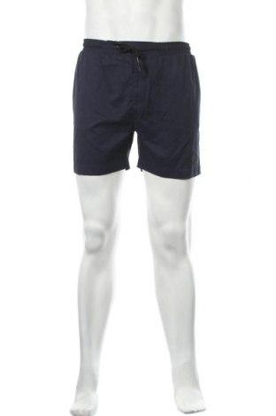 Мъжки къс панталон Anerkjendt, Размер S, Цвят Син, 60% полиестер, 30% памук, 10% полиамид, Цена 28,32лв.