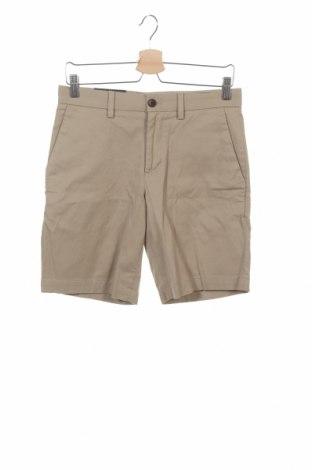 Мъжки къс панталон Banana Republic, Размер S, Цвят Бежов, 98% памук, 2% еластан, Цена 21,96лв.