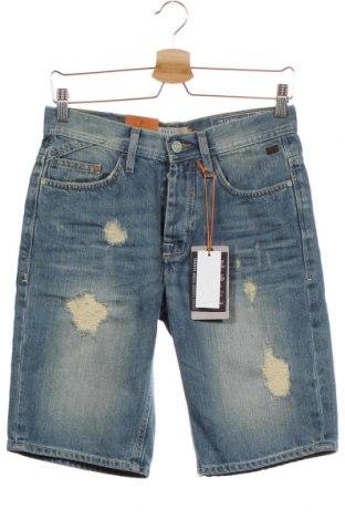 Мъжки къс панталон Blend, Размер S, Цвят Син, Памук, Цена 26,55лв.