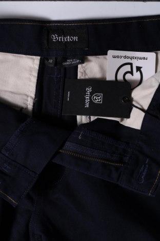 Мъжки къс панталон Brixton, Размер M, Цвят Син, 60% памук, 40% полиестер, Цена 16,99лв.