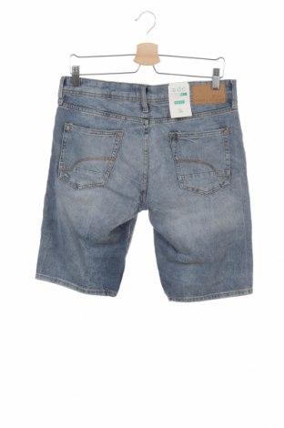 Мъжки къс панталон Edc By Esprit, Размер S, Цвят Син, Памук, Цена 27,60лв.