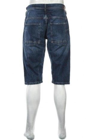Мъжки къс панталон Esprit, Размер M, Цвят Син, 98% памук, 2% еластан, Цена 22,33лв.