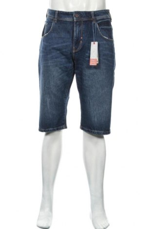 Мъжки къс панталон Esprit, Размер L, Цвят Син, 98% памук, 2% еластан, Цена 22,33лв.