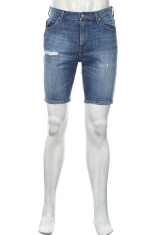Мъжки къс панталон Lee, Размер M, Цвят Син, 98% памук, 2% еластан, Цена 21,75лв.