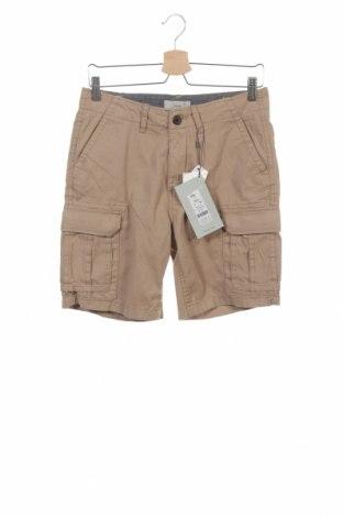 Мъжки къс панталон Minimum, Размер S, Цвят Бежов, Памук, Цена 33,60лв.