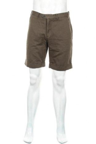 Мъжки къс панталон Nowadays, Размер M, Цвят Зелен, 55% лен, 45% памук, Цена 20,37лв.