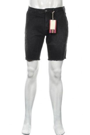Pantaloni scurți de bărbați Scotch & Soda, Mărime M, Culoare Gri, Bumbac, Preț 182,47 Lei