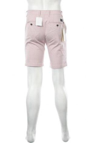 Мъжки къс панталон Selected Homme, Размер S, Цвят Розов, 73% памук, 25% полиестер, 2% еластан, Цена 19,98лв.