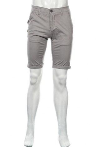 Мъжки къс панталон Shine Original, Размер M, Цвят Сив, 98% памук, 2% еластан, Цена 18,36лв.