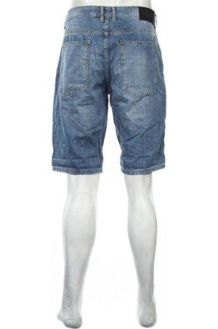 Мъжки къс панталон Tom Tailor, Размер L, Цвят Син, Памук, Цена 18,04лв.