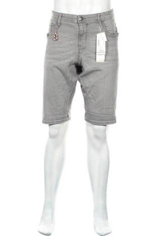Мъжки къс панталон Tom Tailor, Размер L, Цвят Сив, 98% памук, 2% еластан, Цена 22,05лв.