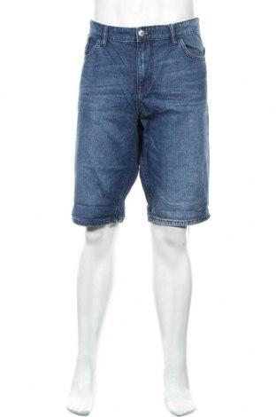 Мъжки къс панталон Tom Tailor, Размер XL, Цвят Син, Памук, Цена 16,43лв.