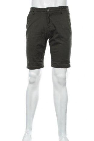 Мъжки къс панталон Tom Tailor, Размер M, Цвят Зелен, 99% памук, 1% еластан, Цена 18,81лв.