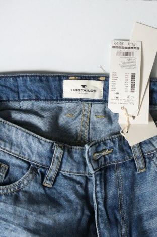 Мъжки къс панталон Tom Tailor, Размер M, Цвят Син, Памук, Цена 20,80лв.