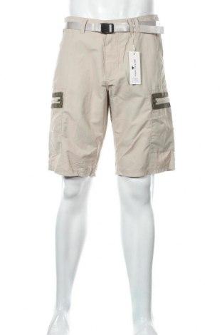 Мъжки къс панталон Tom Tailor, Размер M, Цвят Бежов, Полиамид, Цена 19,77лв.
