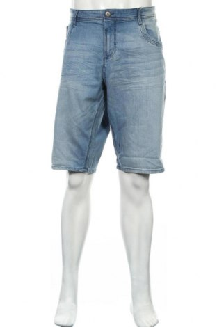 Мъжки къс панталон Tom Tailor, Размер XL, Цвят Син, 98% памук, 2% еластан, Цена 22,05лв.