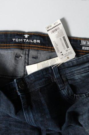 Мъжки къс панталон Tom Tailor, Размер L, Цвят Син, 98% памук, 2% еластан, Цена 22,05лв.