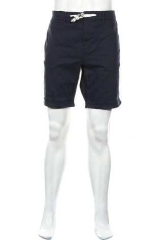 Мъжки къс панталон Tom Tailor, Размер XL, Цвят Син, 99% памук, 1% еластан, Цена 34,22лв.