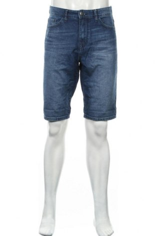 Pantaloni scurți de bărbați Tom Tailor, Mărime L, Culoare Albastru, Bumbac, Preț 64,47 Lei