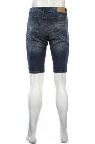Мъжки къс панталон Tom Tailor, Размер S, Цвят Син, 98% памук, 2% еластан, Цена 22,05лв.