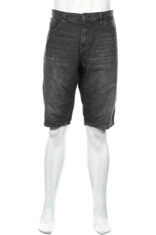 Мъжки къс панталон Tom Tailor, Размер L, Цвят Сив, Памук, Цена 16,77лв.