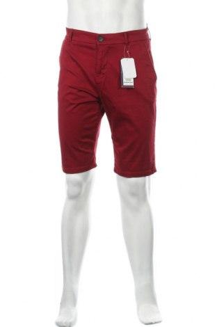 Pánské kraťasy Tom Tailor, Velikost S, Barva Červená, 98% bavlna, 2% elastan, Cena  367,00Kč