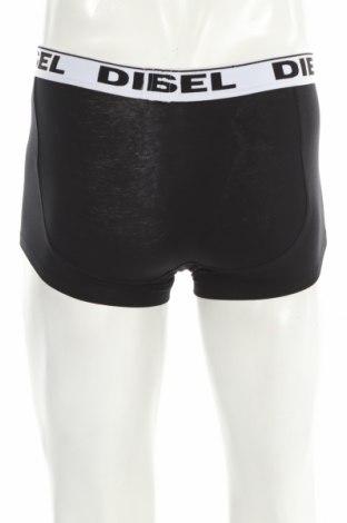 Мъжки комплект Diesel Underwear, Размер XS, Цвят Черен, 95% памук, 5% еластан, Цена 31,05лв.