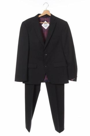 Ανδρικό κοστούμι Club Of Gents, Μέγεθος S, Χρώμα Μαύρο, 68% πολυεστέρας, 30% μαλλί, 2% ελαστάνη, Τιμή 25,13€