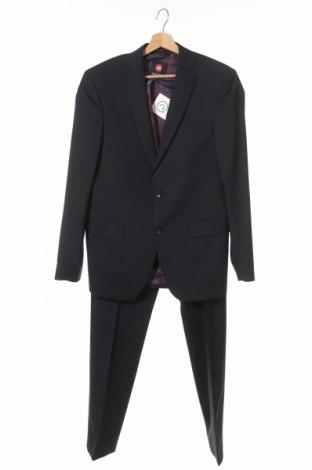 Ανδρικό κοστούμι Club Of Gents, Μέγεθος S, Χρώμα Μαύρο, 68% πολυεστέρας, 30% μαλλί, 2% ελαστάνη, Τιμή 31,89€