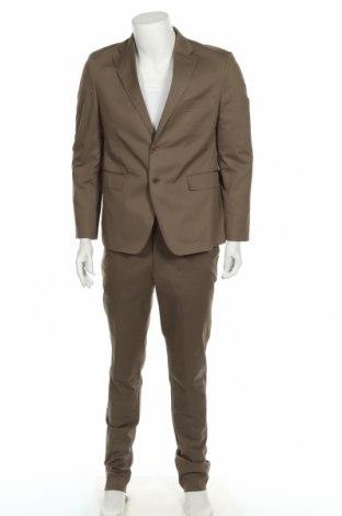 Ανδρικό κοστούμι Gutteridge, Μέγεθος M, Χρώμα Πράσινο, Βαμβάκι, Τιμή 63,74€