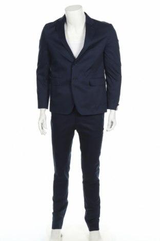 Ανδρικό κοστούμι Gutteridge, Μέγεθος M, Χρώμα Μπλέ, Βαμβάκι, Τιμή 63,74€