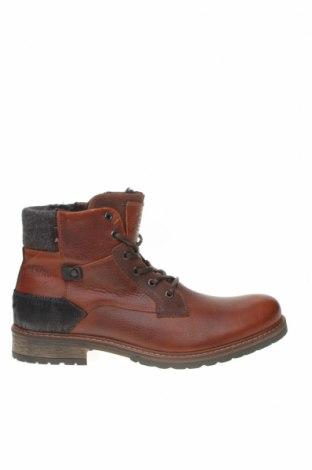 Мъжки обувки Bullboxer, Размер 45, Цвят Кафяв, Естествена кожа, Цена 119,25лв.