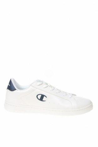 Ανδρικά παπούτσια Champion, Μέγεθος 42, Χρώμα Λευκό, Δερματίνη, Τιμή 43,63€
