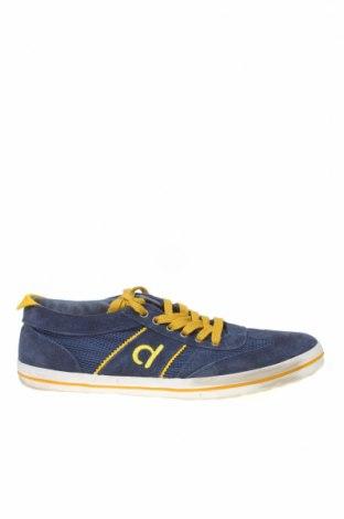 Ανδρικά παπούτσια Duuo, Μέγεθος 43, Χρώμα Μπλέ, Φυσικό σουέτ, κλωστοϋφαντουργικά προϊόντα, γνήσιο δέρμα, Τιμή 40,46€