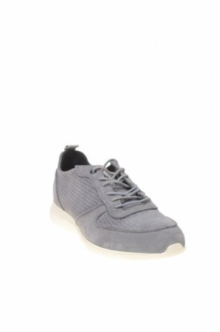 Ανδρικά παπούτσια Hackett, Μέγεθος 41, Χρώμα Γκρί, Φυσικό σουέτ, Τιμή 111,73€