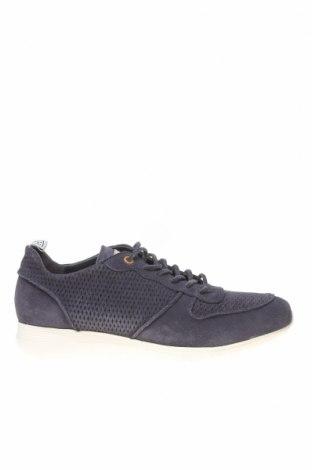 Ανδρικά παπούτσια Hackett, Μέγεθος 41, Χρώμα Μπλέ, Φυσικό σουέτ, Τιμή 52,14€
