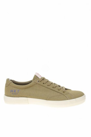 Ανδρικά παπούτσια Hackett, Μέγεθος 41, Χρώμα Πράσινο, Κλωστοϋφαντουργικά προϊόντα, Τιμή 41,77€