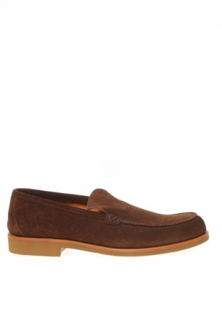 Мъжки обувки Hackett, Размер 42, Цвят Кафяв, Естествен велур, Цена 158,95лв.