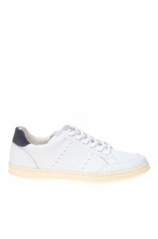 Ανδρικά παπούτσια Hackett, Μέγεθος 41, Χρώμα Λευκό, Γνήσιο δέρμα, Τιμή 52,14€