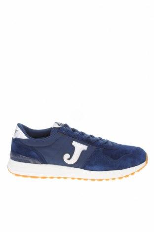 Ανδρικά παπούτσια Joma, Μέγεθος 45, Χρώμα Μπλέ, Γνήσιο δέρμα, φυσικό σουέτ, κλωστοϋφαντουργικά προϊόντα, Τιμή 43,88€
