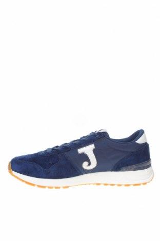 Ανδρικά παπούτσια Joma, Μέγεθος 45, Χρώμα Μπλέ, Γνήσιο δέρμα, φυσικό σουέτ, κλωστοϋφαντουργικά προϊόντα, Τιμή 49,87€