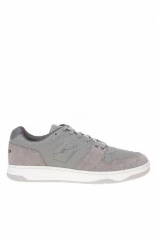 Ανδρικά παπούτσια Lotto, Μέγεθος 43, Χρώμα Γκρί, Δερματίνη, φυσικό σουέτ, Τιμή 44,16€