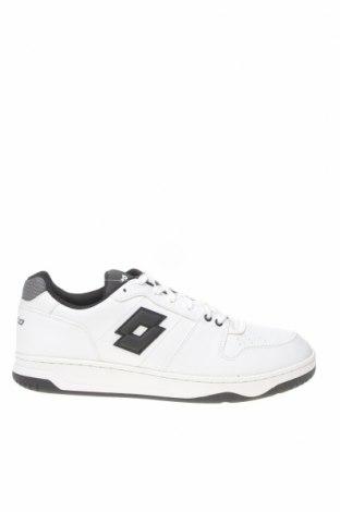 Ανδρικά παπούτσια Lotto, Μέγεθος 43, Χρώμα Λευκό, Δερματίνη, Τιμή 42,70€