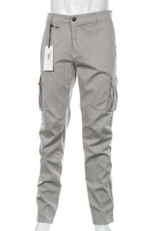 Мъжки панталон Aeronautica Militare, Размер L, Цвят Сив, 98% памук, 2% еластан, Цена 126,75лв.