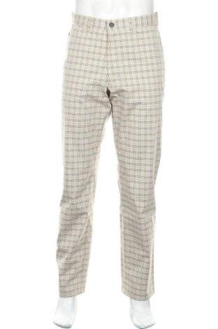Мъжки панталон Alberto, Размер M, Цвят Многоцветен, 56% памук, 40% полиамид, 4% еластан, Цена 15,51лв.